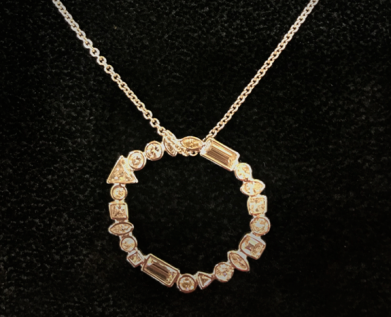 21 Diamonds Bespoke Commission Necklace