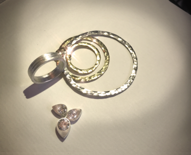 Three Generations Upcycling Bespoke Jewellery Commission