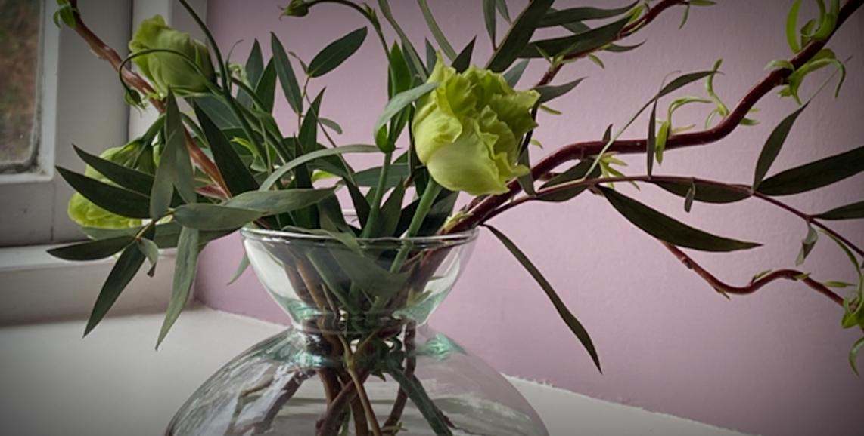 Decorative floral display