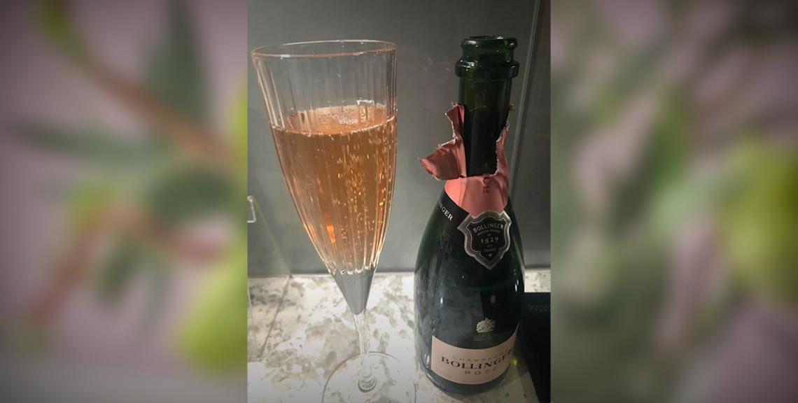 Champagne celebrations