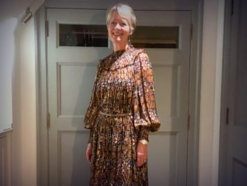 Nicola in 2020 - all dressed up with nowhere to go