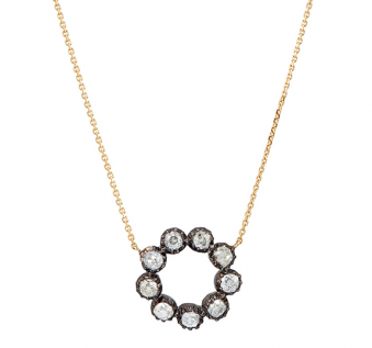 Edith Collection 2016 - Circle of Stars Necklace