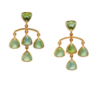 Edith Collection 2016 - Spring Leaves Earrings