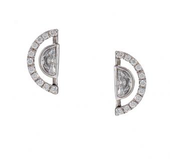 Despina Collection 2015 - Halo'd Moon Earrings