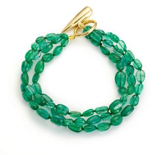 Aurora Collection Edith & Kiveen - Raj Green Bracelet