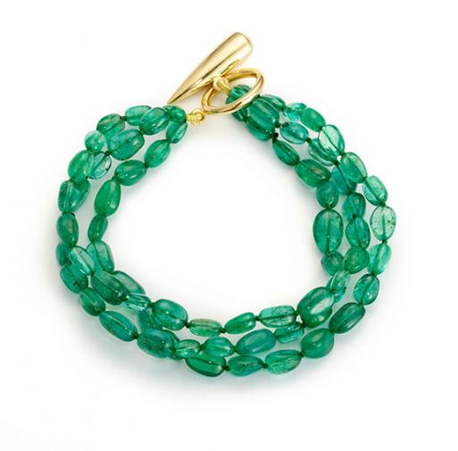Raj Green Bracelet © Edith & Kiveen