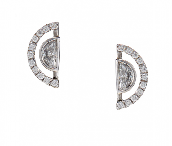 Haloed Moon Earrings © Edith & Kiveen