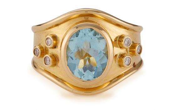 Aqua Vita Ring © Edith & Kiveen