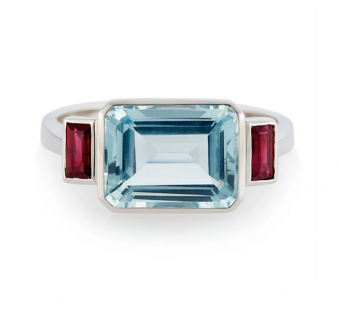 Grace Collection 2018 - Fire & Water Ring